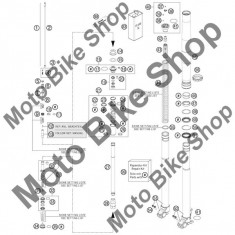 MBS Kit reparatie furca fata KTM 125 EXC SIX-DAYS 2013 #99, Cod Produs: R24001KT - Furca Moto