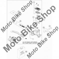 MBS Tija pompa frana KTM 250 SX (US) 2015 #21, Cod Produs: 77713007000KT - Pompa frana Moto