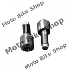 MBS Capeti ghidon Al., argintii MCL202C, Cod Produs: 7651839MA - Capat ghidon Moto