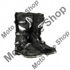 MBS Cizme enduro Alpinestars TECH3, negru, 10=44.5, Cod Produs: 2013171010AU - Cizme Moto