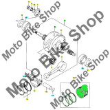 MBS Piston+segmenti Suzuki Burgman 150 D.62,5, Cod Produs: 1210021F60050SU