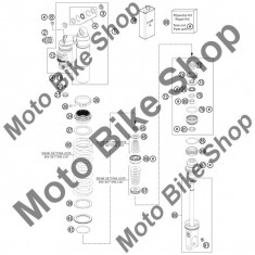 MBS Semering praf KTM 250 EXC 2008 #81, Cod Produs: 50180606KT - Simeringuri Moto