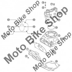 MBS Garnitura flansa intermediara toba KTM EXC/SX 125/200 #46, Cod Produs: 52337046100KT - Garnitura toba Moto