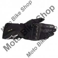 MBS Manusi piele/textil Alpinestars GT-S Extrafit GTX, negru, 2XL=12, Cod Produs: 35252142XLAU