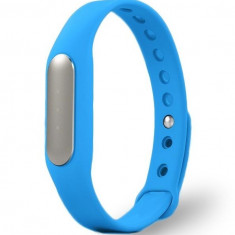 Bratara fitness iUni MI1 Smart Band, Bluetooth, Activity and Sleep, Albastru