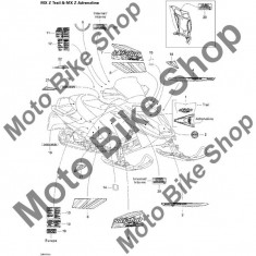 MBS Abtibild 2005 MX Z 600 HO Trail & Adrenaline & X #20, Cod Produs: 516002965SK