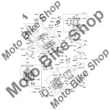MBS Flansa admisie 2005 Kawasaki Brute Force 750 4x4i (KVF750-A1) #16065, Cod Produs: 160650116KA
