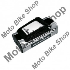 MBS Burete ghidon BlackBird enduro, negru/argintiu, Cod Produs: BB5044AU - Protectie ghidon Moto