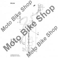 MBS Pivot frana spate 2003 Suzuki QuadSport (LT-Z400) #5, Cod Produs: 6969207G00SU - Pivoti ATV