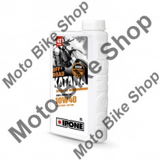 MBS Ulei moto 4T Ipone Katana Off Road 10W40 100% Sintetic ESTER - JASO MA2 - API SM, 2L, Cod Produs: 800367IP - Ulei motor Moto
