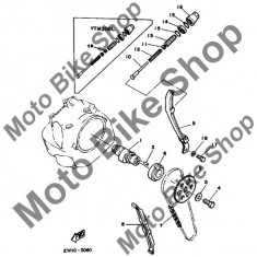 MBS Pinion ax cama 1984 Yamaha Tri-Moto (YTM200L) #2, Cod Produs: 5H0121760000YA - Axe cu came Moto