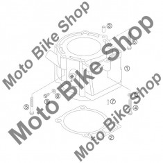 MBS Garnitura cilindru 0, 5mm KTM 250 EXC Factory 2005 #2, Cod Produs: 59030035050KT - Set garnituri motor Moto