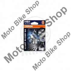 MBS Bec far HS1 12V 35/35W, PX43T Osram Night Racer 90, Cod Produs: 7060135MA - Becuri Moto