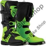 MBS Cizme motocross Thor Blitz S5, negru/verde, 47, Cod Produs: 34101447PE