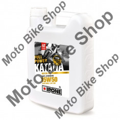 MBS Ulei moto 4T Ipone Full Power Katana 15W50 100% Sintetic ESTER - JASO MA2 - API SM, 4L, Cod Produs: 800358IP - Ulei motor Moto