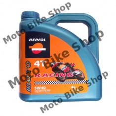 MBS Ulei Repsol Racing 4T 5W40 4L, Cod Produs: 004278 - Ulei motor Moto