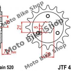 MBS Pinion fata Z15 520 Suzuki DR 600/650, Cod Produs: 7261100MA - Pinioane transmisie Moto
