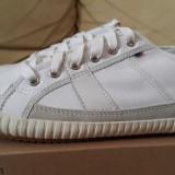 Adidasi originali femei LE COQ SPORTIF_panza_cutie_piele_38_livrare gratuita - Adidasi dama Le Coq Sportif, Culoare: Alb