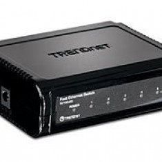 Switch Trendnet TE100-S5 5-Porturi 10/100Mbps