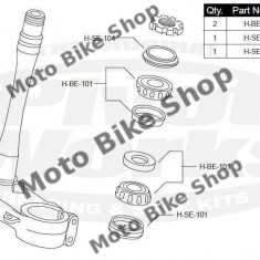 MBS Kit rulmenti ghidon Honda CR250R CRF250/450R, Cod Produs: PWSSKH02021VP - Kit rulmenti ghidon Moto
