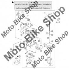 MBS Ghidaj siber carburator KTM LC4 400/640 #37, Cod Produs: 58431037000KT - Kit reparatie carburator Moto