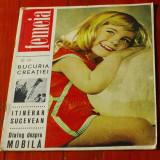 revista Femeia - iunie 1965 / nr 6  - 34 pagini !!!