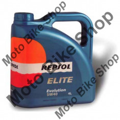 MBS Ulei Repsol Elite Evolution 5W40 4L, Cod Produs: 002700 - Ulei motor Moto