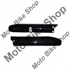 MBS Aparatori telescoape negre fata Suzuki RM 250, Cod Produs: 7165004MA - Carene moto