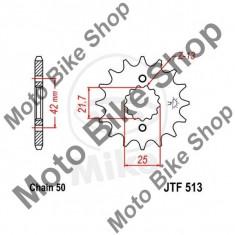 MBS Pinion fata 530 Z13, JTF513.13, Cod Produs: 7264013MA - Pinioane transmisie Moto