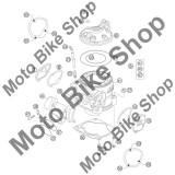MBS O-Ring chiuloasa 76,00x2,00 Viton KTM 250 EXC 2005 #20, Cod Produs: 0770760021KT