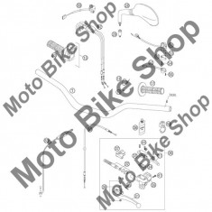 MBS Maneta decompresor KTM 250 EXC FACTORY 2005 21, Cod Produs: 59002047000KT - Maneta decompresor Moto