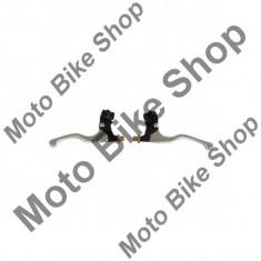 MBS Set manete+suport ambreiaj/frana TMV, scurte, Cod Produs: 172050AU - Maneta Moto