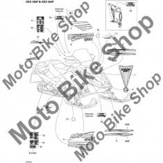 MBS Abtibild 2006 Ski Doo Gsx 550F #10, Cod Produs: 516003026SK - Stikere Moto