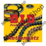MBS Kit lant DID X-Ring auriu/negru, 525VX, pinion fata 16Z, pinion spate 44Z, Honda VT600C 1989-2000, Cod Produs: 7980105MA