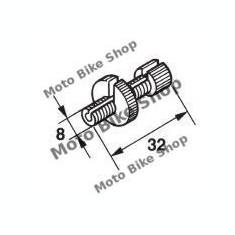 MBS Surub reglaj ambreiaj motocicleta (1buc.), Cod Produs: 2898BU - Accesorii Cabluri Moto