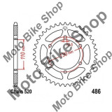 MBS Pinion spate 38Z 520 Yamaha YZF-R1 1000, 1998-2014, Cod Produs: 7273808MA