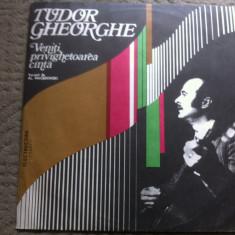 Tudor Gheorghe Veniti privighetoarea canta album disc vinyl lp Muzica Folk electrecord, VINIL