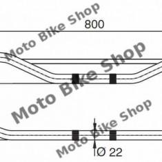 MBS Ghidon otel universal D.22mm, Cod Produs: 10250BU - Ghidon Moto