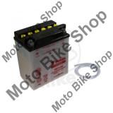 MBS Baterie moto YB14-B2 12V14Ah Yuasa, fara electrolit, Cod Produs: 7070386MA
