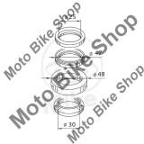 MBS Kit rulmenti jug, Yamaha YP 250 R X-Max 1C01 SG161 2005-2009, Cod Produs: 7360241MA