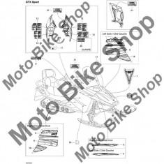 MBS Abtibild 2005 Ski Doo Gtx 500Ss #14, Cod Produs: 516002671SK - Stikere Moto