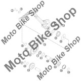 MBS Arc pedala pornire KTM EXC/SX 250/300/380 #25, Cod Produs: 54633025000KT