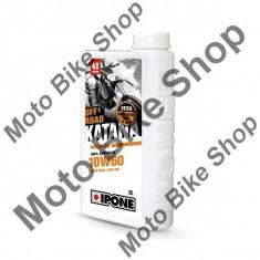 MBS Ulei moto 4T Ipone Katana Off Road 10W60 100% Sintetic ESTER - JASO MA2 - API SM, 2L, Cod Produs: 800364IP - Ulei motor Moto