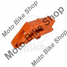 MBS Ghidaj lant transmisie, portocaliu, KTM EXC 125 2T 2009-2015, Cod Produs: 7162696MA - Kit lant transmisie Moto