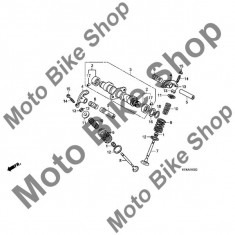 MBS Bucsa ax came 2009 Honda REBEL (CMX250C) #2, Cod Produs: 12234399010HO - Axe cu came Moto