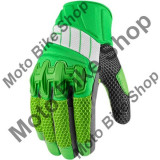 MBS Manusi textile Icon Glove Overlord, verde, XL, Cod Produs: 33012420PE