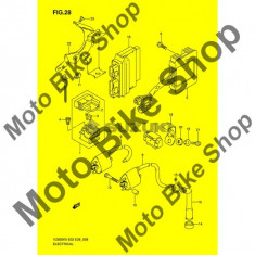 MBS Pipa bujie Suzuki VZ800K8(E3/E28) K8 2008 #13, Cod Produs: 3351011410SU - Pipe bujii Moto