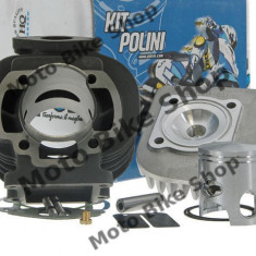 MBS Set motor+chiuloasa Aprilia/Minarelli/Yamaha AC vertical D.47, Cod Produs: 1660074PO - Motor complet Moto