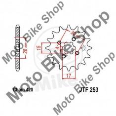 MBS Pinion fata 420 Z12, JTF253.12, Cod Produs: 7262389MA - Pinioane transmisie Moto