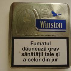 Tabachera / Cutie  metalica  pentru  tutun - Winston